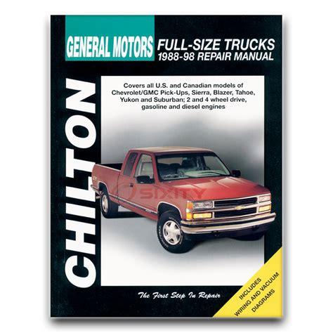 free car repair manuals 1992 chevrolet suburban 1500 security system chilton repair manual for chevy c1500 suburban ls silverado base lt shop bv ebay