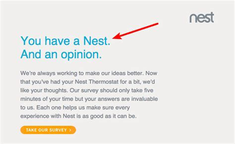 customer survey email template the ultimate customer feedback email template sles