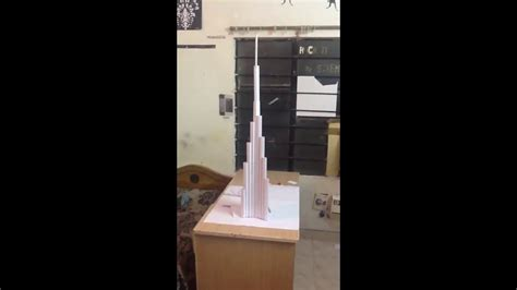 How To Make Burj Khalifa Out Of Paper - burj khalifa paper model hd