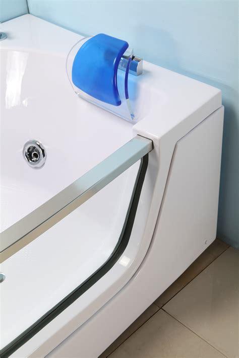 hydromassage baignoire baignoire balneo massante angle haute bain tourbillon