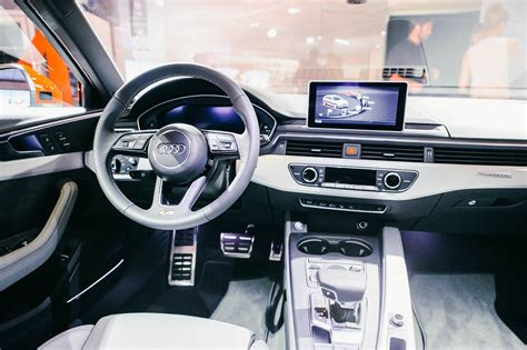 audi a4 2016 interior 2016 audi a4 snapped in the flesh for the first time