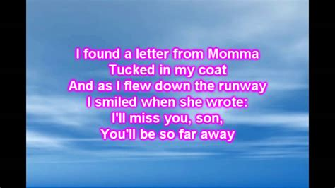schultz when you come home lyrics