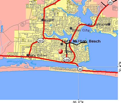 32548 zip code fort walton florida profile