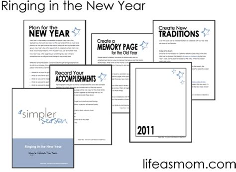 new year printable booklet craftdrawer crafts free printable new years booklet
