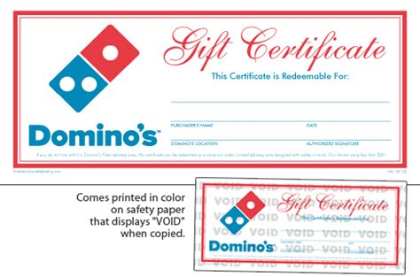 domino s pizza local store marketing materials