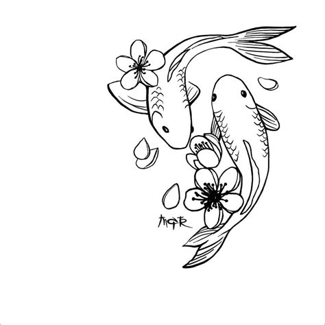 koi tattoo cliche koi tat by cenestelle on deviantart