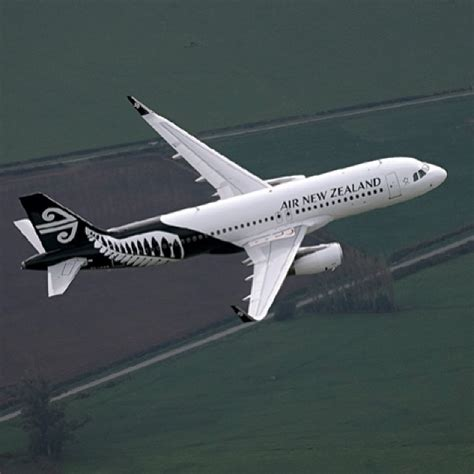Air New Zealand Sky by Air New Zealand S Aircraft A320 Zk Oxb In The