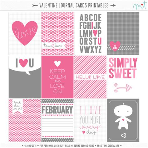 printable planner cards free printables