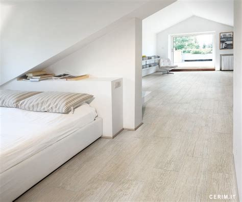 cerim wood essence timber white wall and floor tile by