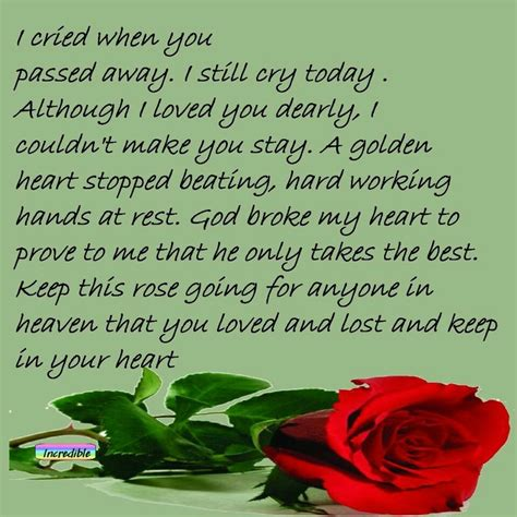 Loved Ones In Heaven Quotes by Miss You So