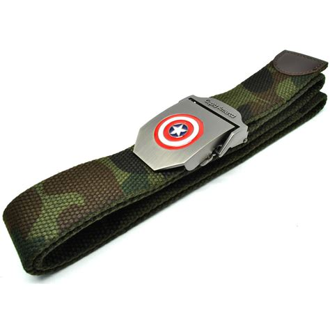 Ikat Pinggang Kulot Belt Pria Montblanc capta america ikat pinggang pria canvas buckle belt camouflage jakartanotebook