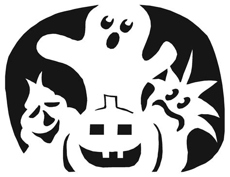 pumpkin print out stencils pumpkin carving templates