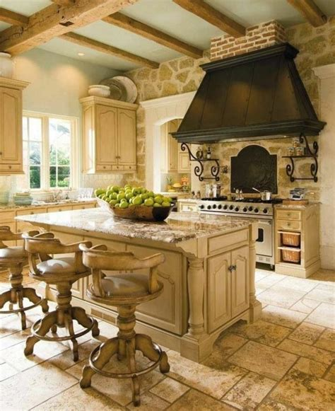 english country kitchen cuisine pinterest 20 id 233 es comment am 233 nager une cuisine style cagne