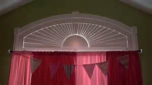 Window Treatments Sliding Glass Doors - window treatments for eyebrow arch windows home intuitive