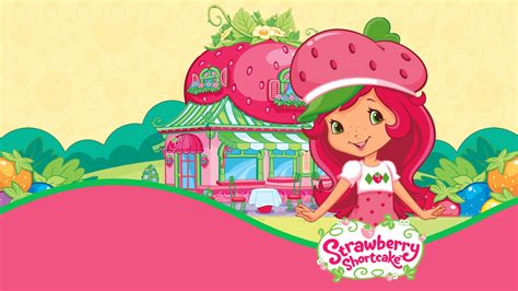 wallpaper cartoon strawberry strawberry shortcake computer wallpaper 54410 1600x900 px