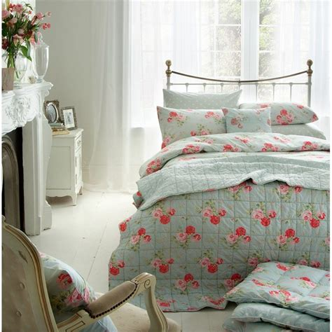 vintage rose bedroom cath kidston antique rose bouquet duvet cover duck egg