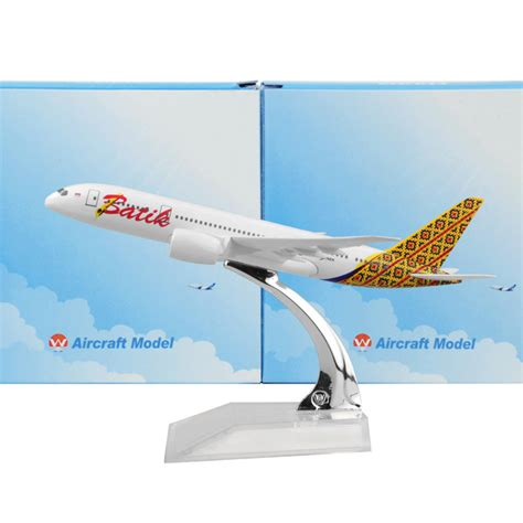 aliexpress shipping to indonesia aliexpress com buy indonesia batik air 787 16cm airplane