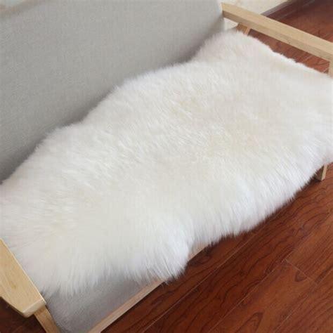 faux fur chair pads 2016 faux fur sheepskin chair cover seat pad soft carpet