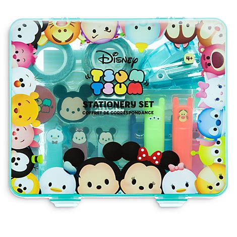 Seprei Set Motif Tsum Tsum ensemble de fournitures miniature tsum tsum