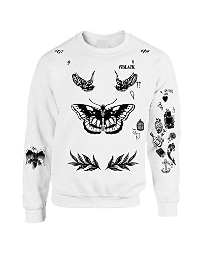 harry styles tattoo jumper uk allntrends harry style sweatshirt tattoo one direction