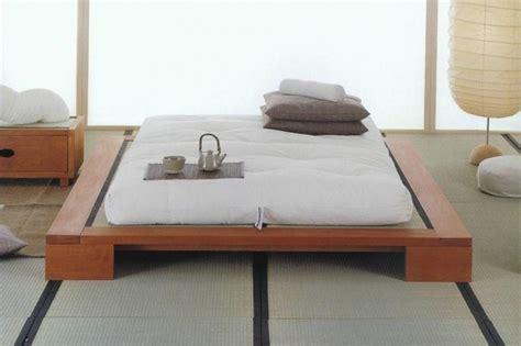 letto basso giapponese letti bassi matrimoniali giapponesi foto 14 26 design mag