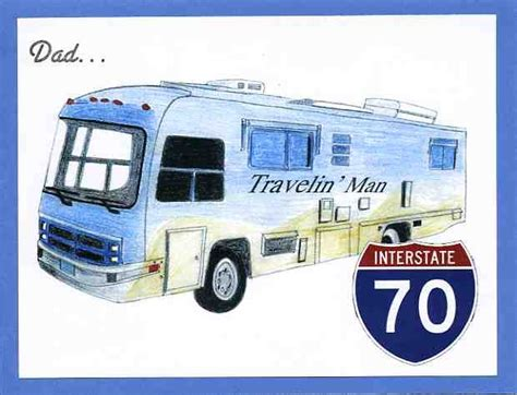 Motorhome Birthday Cards Rv Birthday Pic Quotes Quotesgram