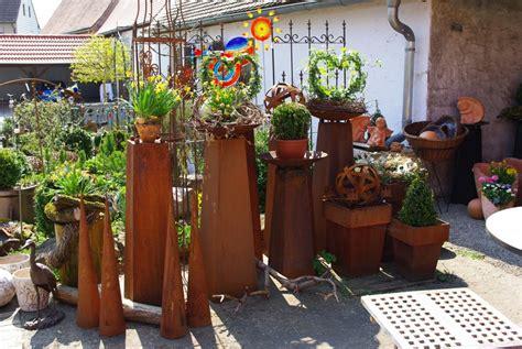 Gartendeko Aus Holz Und Eisen by Gartendekoration Aufgebl 252 Ht