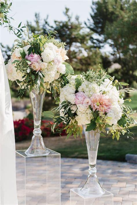 Wedding Ceremony Arrangements by Best 20 Blush Centerpiece Ideas On Wedding