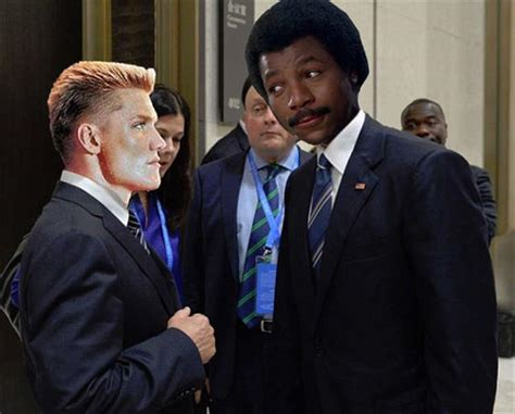 Putin Obama Meme - the obama putin stare gets the internet treatment and it
