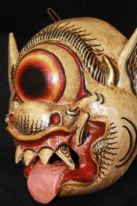 Makser Mata Eye Mask balinese mata besek mask topeng cyclops 1 eyed bali car acadia world traders