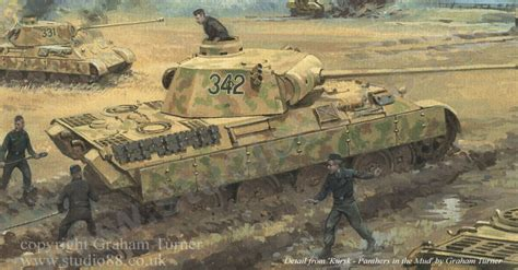 kursk 1943 the southern 1472816900 paintings of the battle of kursk by graham turner