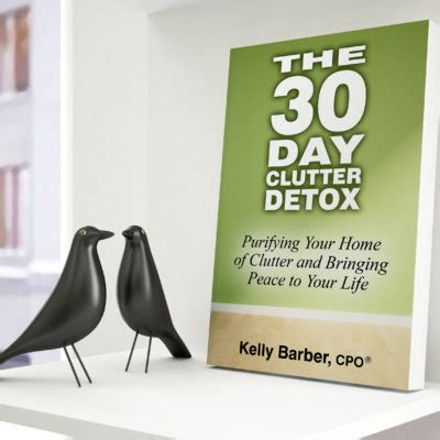 30 Day Detox Drink Book by Clutter Detox Me In Order