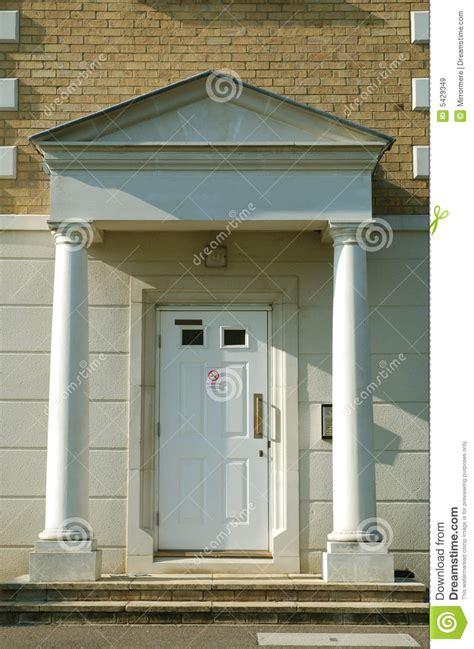 building a front door front door of modern apartment building stock image