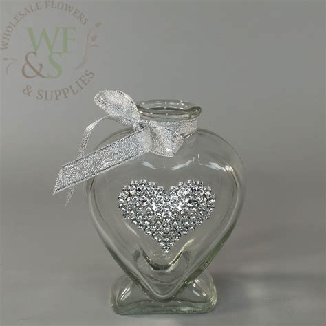 Small Glass Vases Wholesale by Lovely Hearts Small Glass Vases Set Of Two Wholesale