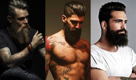 Bearded Mens Hairstyles by Beards Mens Hairstyles 2018 Hairdrome