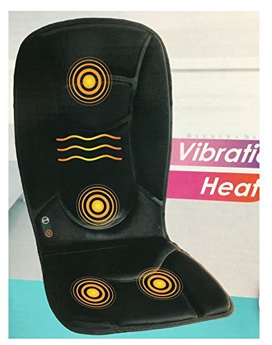 seat topper health touch seat topper with soothing heat health