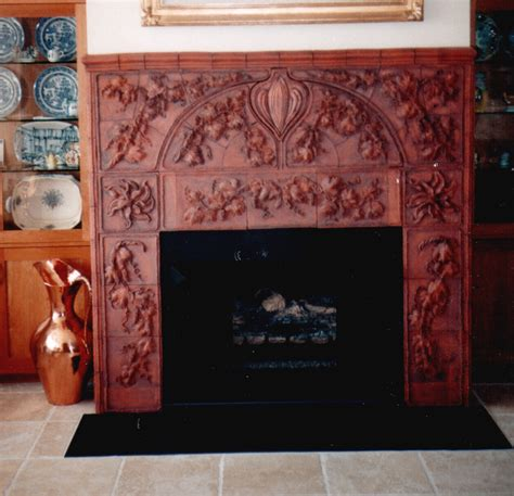 Terracotta Fireplace by Terracotta Tiles Fireplace Www Pixshark Images