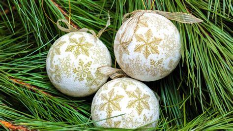 como hacer bolas de navidad para el arbol novedosas bolas para 225 rbol de navidad imagenes de