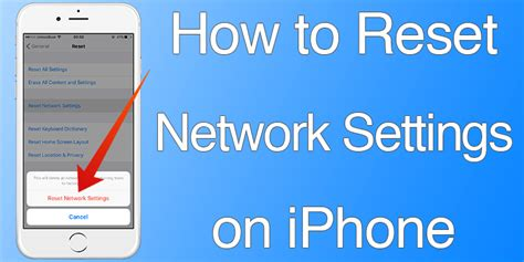 network reset on iphone reset network settings on iphone or ipad in 7 quick steps