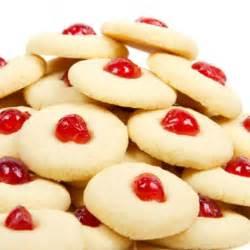 cherry shortbread cookies feed me iv pinterest