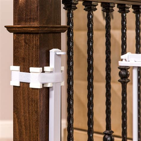 baby gate banister mount amazon com regalo extra tall top of stairs gate with