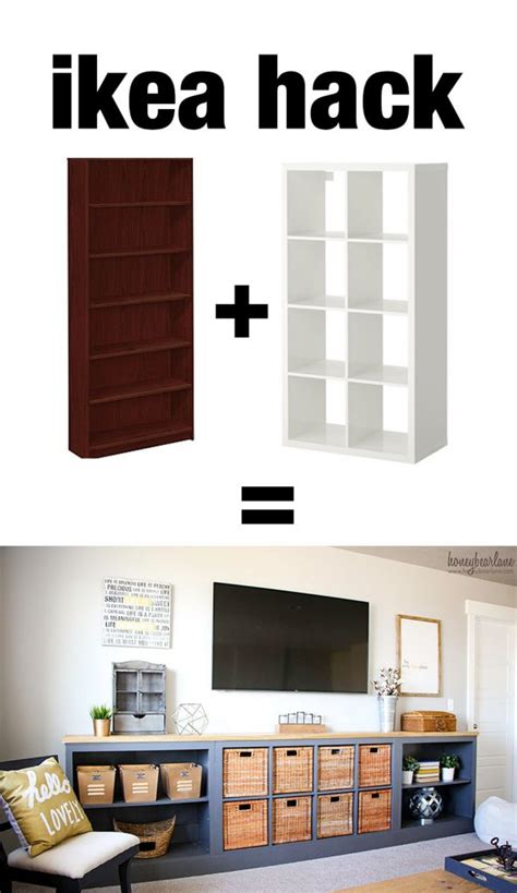 ikea hack expedit  long storage unit honeybear lane