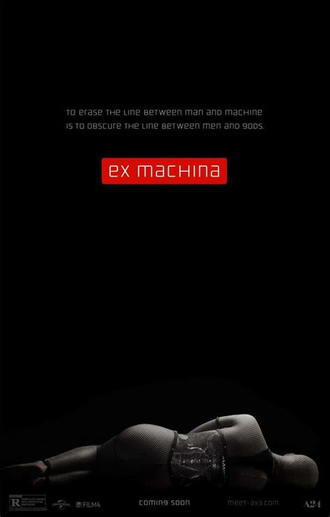 ending of ex machina ex machina alternative movie poster exmachina ex machina