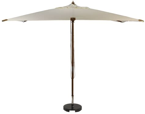 luxury square wooden garden parasol 2 x 2m - 2 X 2m Bettdecke