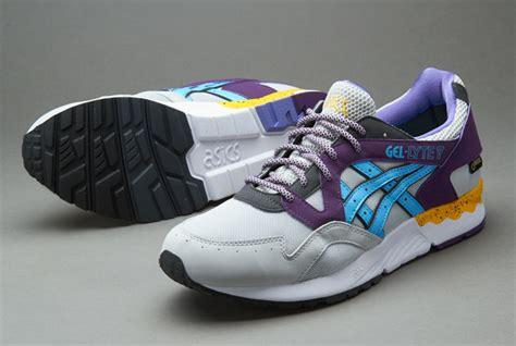 Harga Asics Gel Lyte V Original sepatu sneakers asics gel lyte v tex grey blue