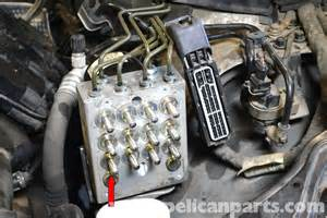 Abs Brake System Faulty Mercedes W203 Abs Module Replacement 2001