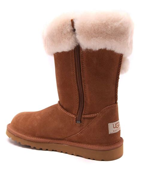 ugg children s plumdale suede boots designer footwear