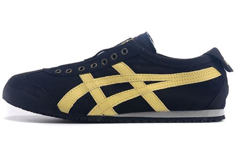 Po Original Onitsuka Tiger Mexico 66 Yellow Mustard White D6e9l 7102 mexico 66 black yellow asics gel speedstar 5