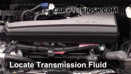 Nissan Rogue 2014 Transmission Add Transmission Fluid 2014 2016 Nissan Rogue 2014