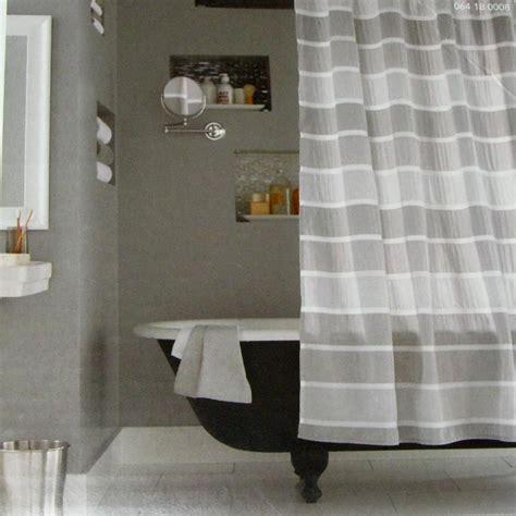 grey shower curtain target target seersucker stripe gray threshold fabric shower curtain